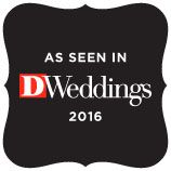 DWeddings Featured Badge 2016